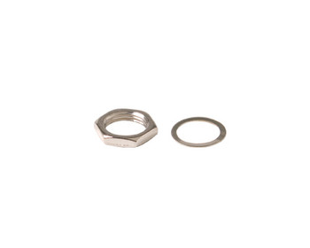 F Fitting 3/8 in Nut and Washer