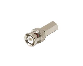 BNC Twist Plug RG6 Connector