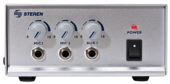 Amplifier 12 or 117 Volt 30 Watt Dual MIC CD/AUX with Siren