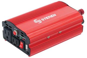 Steren 400-Watt Power Inverter with USB Port