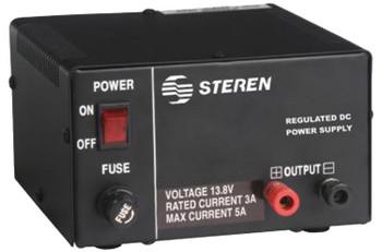 Steren 5 Amp 13.8V Regulated Power Supply