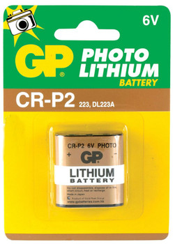 Steren CRP2 Photo Lithium Battery - 1 Pack