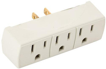 Steren 3-Outlet Grounded AC Adapter