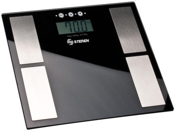 Steren Digital Scale with Glass Base and 330lb Capacity