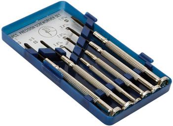 Steren 6-Pcs. Metallic Jewelers Screwdriver Set with Case