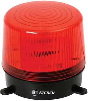 Steren 6-12 VDC Flashing Strobe Light - Red