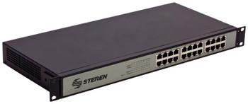 Steren 24-port 10/100 Mbps Ethernet switch