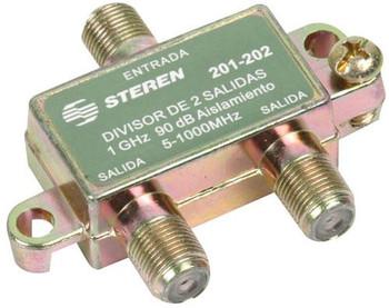 Steren 2-Way 1GHz 90dB RF Splitter