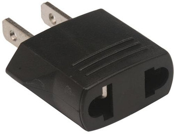 Steren European Female to American Male AC Outlet Adapter
