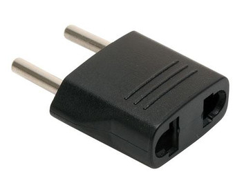 Steren American Female to European Male AC Outlet Adapter