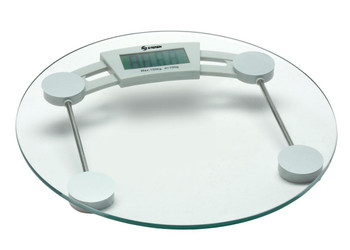 Steren Digital Scale Glass Base with Auto On/Off