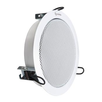 """Steren 7"""" 6-Watt Ceiling Speaker with Transmitter - for 70V Systems"""