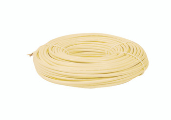Steren 50ft Round Telephone Wire 6-Conductor Ivory