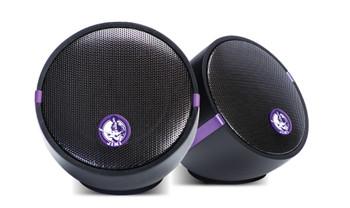 Jimi Hendrix Little Wing - Dual Audio Sync Bluetooth Speakers Black