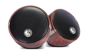 Jimi Hendrix Little Wing - Dual Audio Sync Bluetooth Speakers Wood