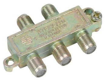 Steren 4-Way 900MHz Mini RF Splitter