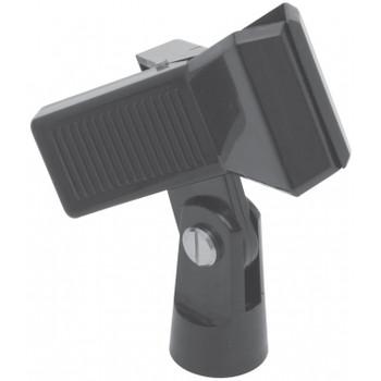 Steren Clamp type Microphone Holder Plastic Black