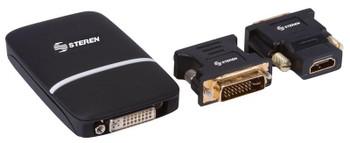 Steren USB to HDMI / VGA / DVI Adapter