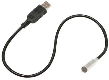 Steren Flexible USB Powered LED Light for Laptops
