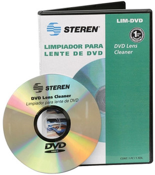 Steren DVD Laser Lens Cleaner - for CD DVD XBOX PS2 PS3 PS4