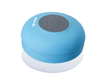 Steren Bluetooth Shower Speaker with Integrated Microphone