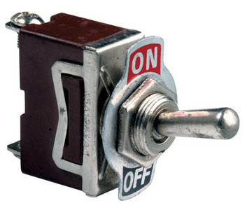 Steren SPST 2 Position 125VAC 10A Toggle Switch