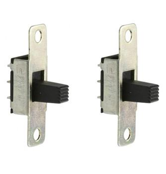 Steren SPDT 2 Position 127VAC 3A Slide Switch - 2 Pack