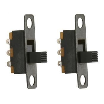 Steren SPDT 120V 0.5A Micro Slide Switch - 2 Pack