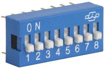 Steren 8-Position DIP Switch