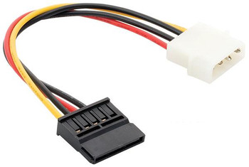 """Steren 6""""  Power Supply Cable for Internal ATA / SATA Devices"""