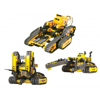Steren 3 in 1 Robot Kit with Remote Control