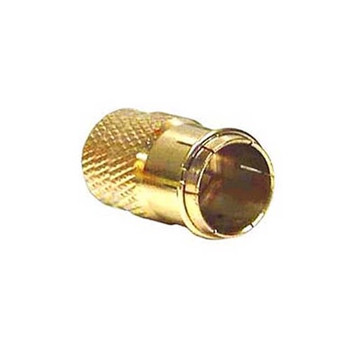 Steren 10ct F Twist On Connector RG59 Gold