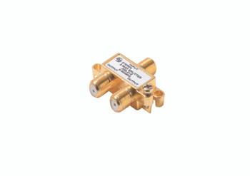 Steren 2-Way 900MHz Mini RF Splitter Gold