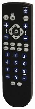 Steren 2-Device Universal Remote Control Black