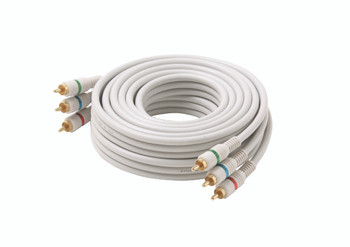 Steren 50ft 3-RCA Component Video Cable