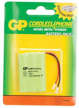 Steren 3.6V 550Mah Universal Ni-MH Cordless Phone Battery for AT&T Uniden Vtech…
