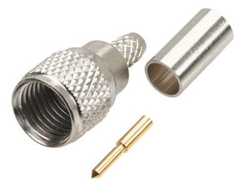 Steren Mini UHF crimp-on Plug connector for RG58 cables