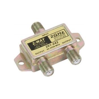Steren 2-Way 2.4GHz 90dB Power Pass Splitter