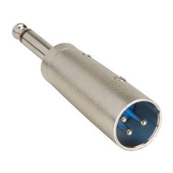 Steren XLR Plug to 1/4in Mono Plug Adapter
