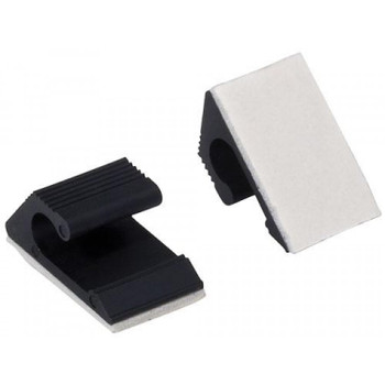 Steren RG6/RG59 Cable clips with adhesive - 10 Pack