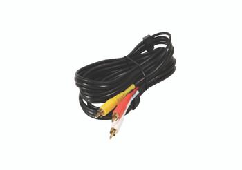 Steren 6ft 3-RCA Composite Audio/Video Cable