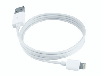 Steren 8-Pin to USB Charging Cable 3ft White