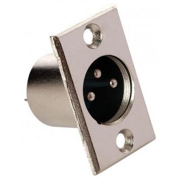 Steren 3C XLR Plug Panel Mount