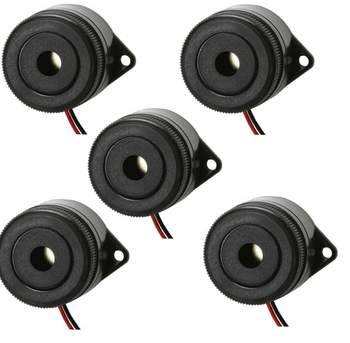 Steren 3 to 24 VDC 3.7 kHz 95 dB continuous tone buzzer