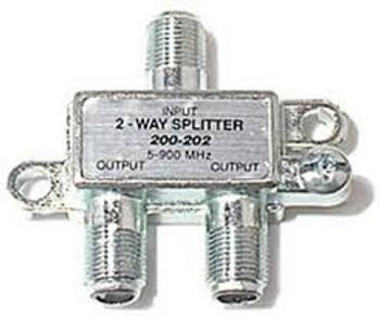 Steren 2-Way 900MHz Mini RF Splitter