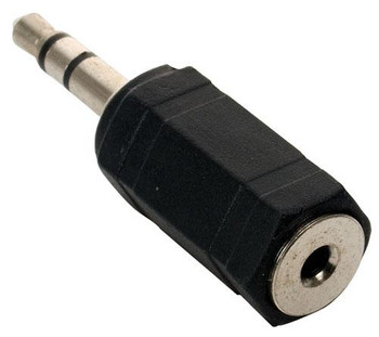 Steren 2.5mm Stereo Jack to 3.5mm Stereo Plug Adapter