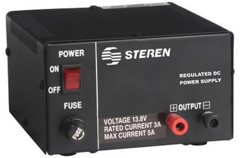 13.8V 3/5 Amp Regulated DC Power Supply