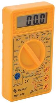 "Steren Digital Pocket Multitester with 1/2"" LCD Display"