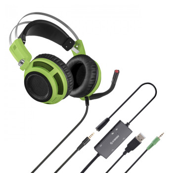 Steren Gamers Headset - Green