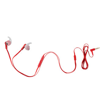 Hands free earbuds with ultra thin cable